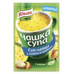 Суп-лапша KNORR Чашка супа с сыром и грибами