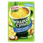 Суп-лапша KNORR с сыром и грибам, 15 г