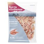 Креветки отборные БУХТА ИЗОБИЛИЯ Варено-мороженные 70/90, 1 кг