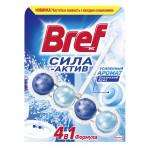 Подвесной блок для унитаза BREF Сила Актив хвоя в упаковке, 3х50 г