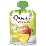 Пюре фруктовое GERBER Organic, 90г