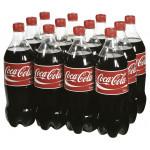 Газированный напиток COCA-COLA в упаковке, 12х1л