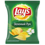 Чипсы LAY`S Зеленый лук в упаковке, 24х80г