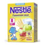 Каша сухая молочная NESTLE пшеничная яблоко/земляника, 220г
