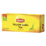 Чай LIPTON Yellow Label черный в пакетиках, 25x2 г