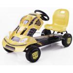 Машина педальная HAUCK желтая