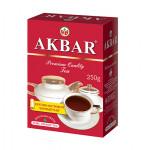Чай AKBAR черный крупнолистовой, 250г