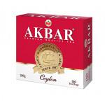 Чай черный AKBAR Ceylon пакетированный, 100х2г