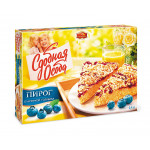 Пирог с начинкой Голубика, СДОБНАЯ ОСОБА, 400 г