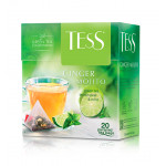 Чай зеленый TESS Ginger Mojito, 20х1,8 г