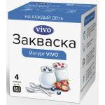 """Закваска VIVO """"Йогурт"""" 4*0,5 гр"""