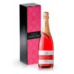 Вино игристое PERELADA Розовое сухое 0,75 л в подарочной упаковке