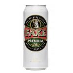 Пиво FAXE Premium в банке, 0,48 л
