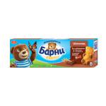 Бисквит БАРНИ с шоколадной начинкой, 150г
