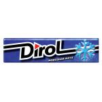 Жевательная резинка DIROL Морозная мята 14 г