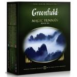 Чай черный GREENFIELD Magic Yunnan пакетированный, 100х2г