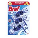 Подвесной блок для унитаза BREF Blue Aktiv в упаковке, 3х50г