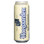 Пиво HOEGAARDEN железная банка, 0,45л