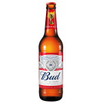 Пиво светлое BUD, 0,47л