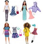 Кукла BARBIE и набор одежды, в ассортименте