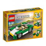 Конструктор LEGO CREATOR 3в1 Зеленый кабриолет 31056, 6-12 лет