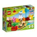 Конструктор LEGO DUPLO Домашние животные 10838, 2-5 лет