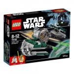 Конструктор LEGO STAR WARS Истребитель Йоды 75168, 8-12 лет