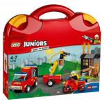 Контруктор LEGO JUNIORS Пожарная команда 10740, 4-7 лет
