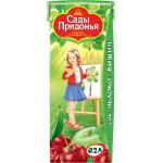 Сок САДЫ ПРИДОНЬЯ Яблоко-вишня, 0,2 л