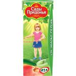 Сок САДЫ ПРИДОНЬЯ Яблоко-персик, 0,2 л