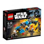 Конструктор LEGO STAR WARS Охотник за головами 75167, 6-12 лет