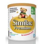 Детская сухая смесь SIMILAC премиум 2, 400г