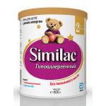 Молочная смесь SIMILAC 2 гипоаллергенный, 400г