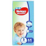 Подгузники для мальчиков HUGGIES Ultra Comfort 5 (12-22кг), 64 шт.