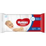 Влажные салфетки HUGGIES Classic, 64 шт
