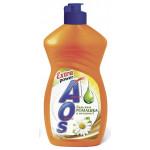 АОS Жидкость для мытья посуды Ромашка и Витамин Е 450 мл