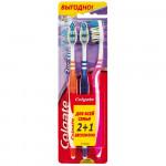 Зубная щетка COLGATE зиг-заг 2+1, средняя жесткость