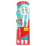 Зубная щетка COLGATE 360 Суперчистота всей полости рта 1+1, средней жесткости