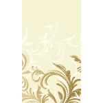 Скатерть DUNI Grace cream, 138х220 см