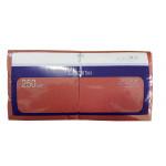 Салфетки H-LINE Красные однослойные, 250 шт
