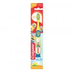 Зубная щетка COLGATE Миньоны детская на присоске, супермягкие щетинки