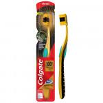 Зубная щетка COLGATE 360 Золотая с древесным углем Мягкая