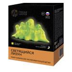 Набор химических экспериментов для детей ТРЮКИ НАУКИ Светящийся лизун
