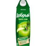 Сок ДОБРЫЙ Яблочный, 1л