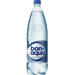 Питьевая вода BONAQUA газированная, 1,5 л