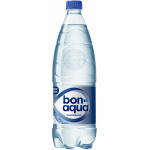 Вода минеральная BONAQUA столовая/питьевая газированная, 1л