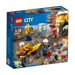 Конструктор LEGO 60184 Бригада шахтера