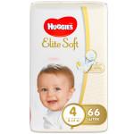 Подгузники HUGGIES Elite Soft 4 (8-14кг), 66 шт
