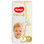 Трусики HUGGIES Elite Soft 5 (12-22кг), 56шт