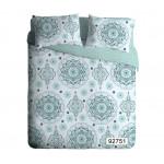Комплект постельного белья ЭКОДОМ Орнамент семейный
